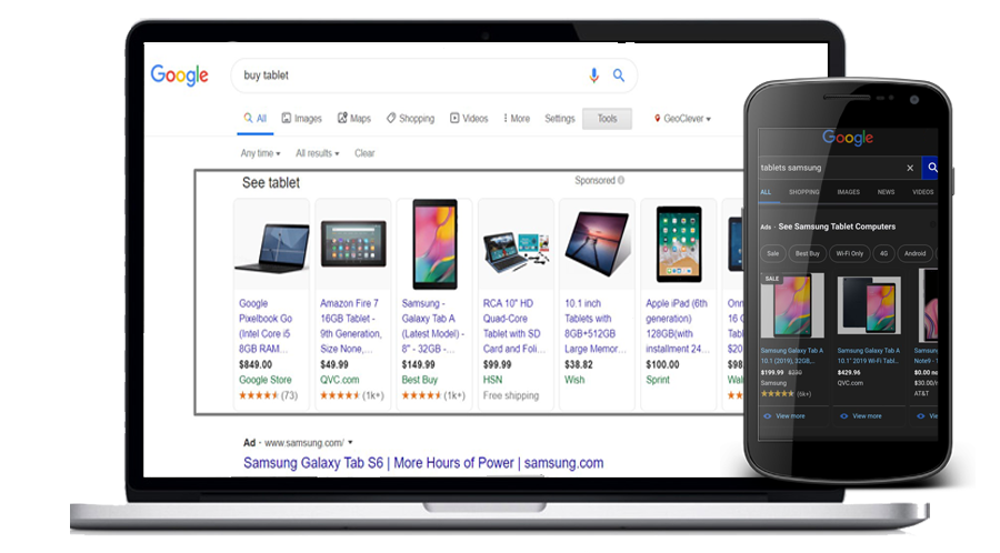 Google Shopping Examples